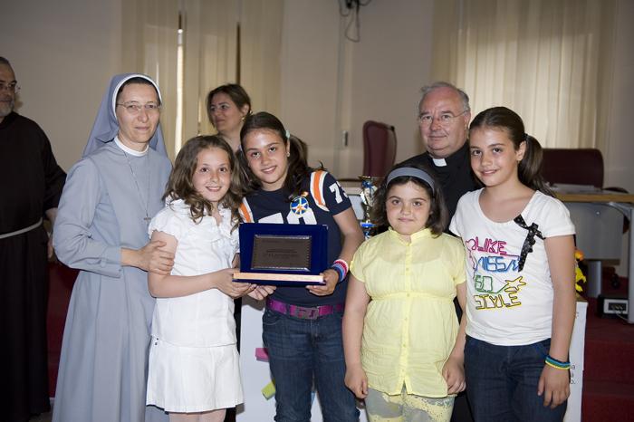 2° premio - classe 4^ Suore Sacramentine di Bergamo